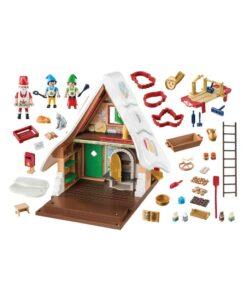 Playmobil julebageri med kageforme 9493 indhold
