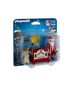 Playmobil julemand og engel 4889