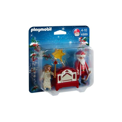 Playmobil julemand og engel 4889