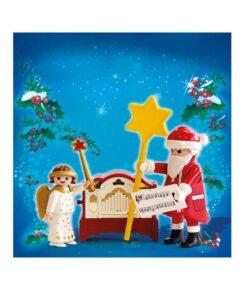 Playmobil julemand og engel 4889 billede