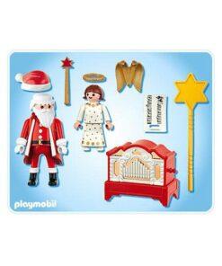 Playmobil julemand og engel 4889 indhold