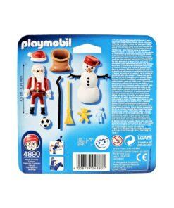 Playmobil Julemand og snemand 4890 bagside