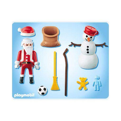 Playmobil Julemand og snemand 4890 indhold