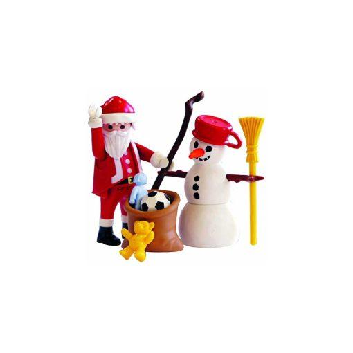 Playmobil Julemand og snemand 4890 opstilling