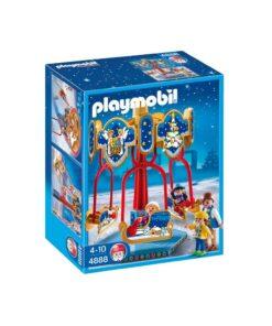 Playmobil julekarrusel med slæder 4888