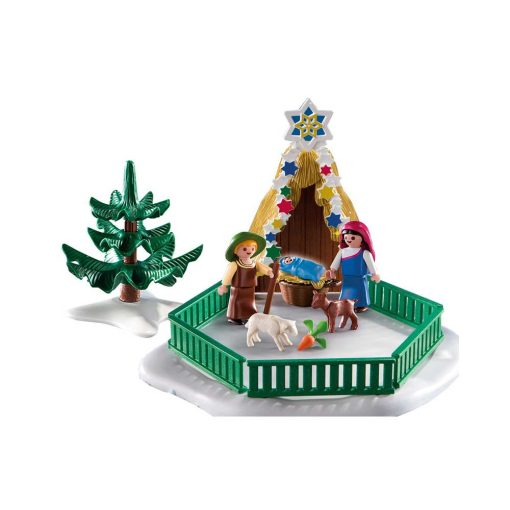 Playmobil krybbespil 4885 indhold
