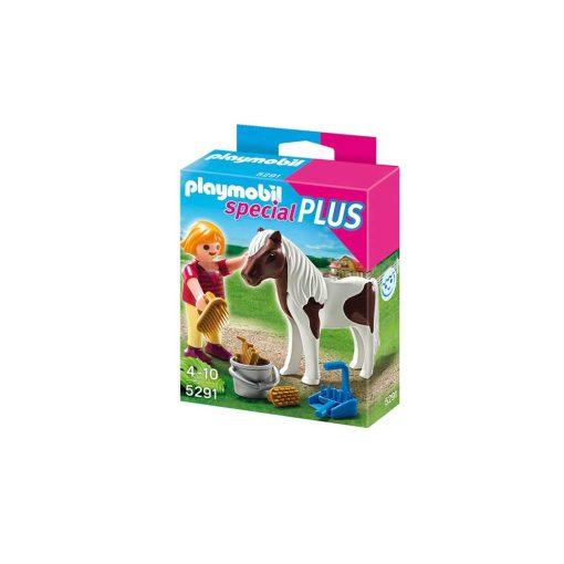 Playmobil pige med pony 5291