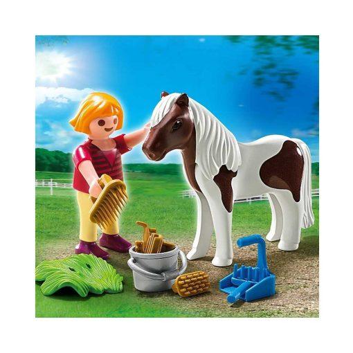 Playmobil pige med pony 5291 billede