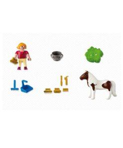 Playmobil pige med pony 5291 indhold