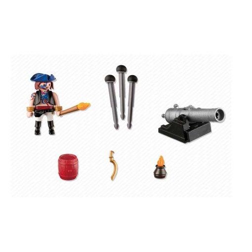 Playmobil pirat med kanon 5413 indhold
