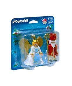 Playmobil sankt nikolaj og engel 4887
