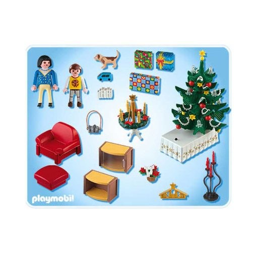 Playmobil juleaften til dukkehus 4892 indhold