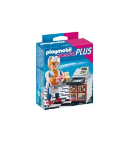 Playmobil tjener med kasseapparat 5292