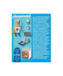 Playmobil tjener med kasseapparat 5292 bagside