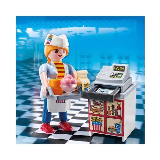 Playmobil tjener med kasseapparat 5292 billede