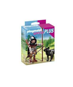 Playmobil bueskytte med ulv 5408