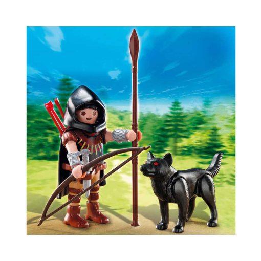 Playmobil bueskytte med ulv 5408 billeder