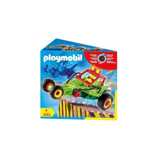 Grøn Playmobil stuntcar racerbil 4183