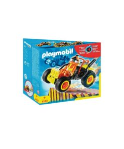 Orange Playmobil stuntcar racerbil 4182