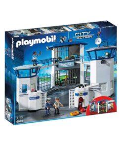 Playmobil Politihovedkvarter med fængsel 6919 æske