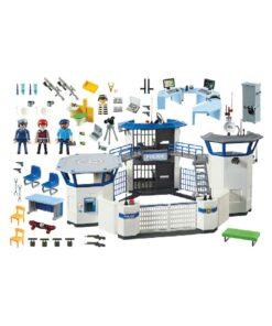 Playmobil Politihovedkvarter med fængsel 6919 indhold