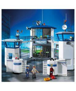 Playmobil Politihovedkvarter med fængsel 6919 stort billede
