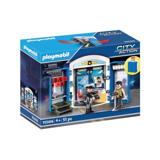 Playmobil tag-med politistation 70306 æske