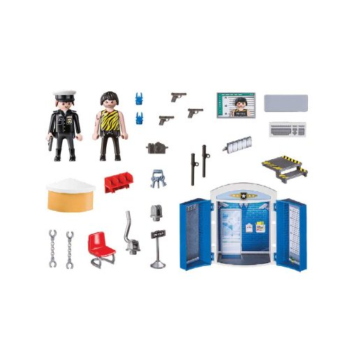 Playmobil tag-med politistation 70306 indhold