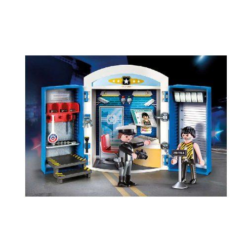 Playmobil tag-med politistation 70306 billede