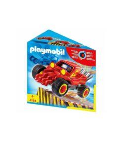 Rød Playmobil stuntcar racerbil 4184