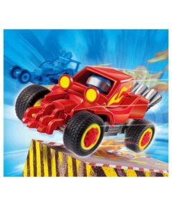 Rød Playmobil stuntcar racerbil 4184 illustration