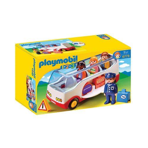 Playmobil bus 6773 æske