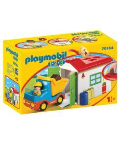 PLaymobil 1-2-3 lastbil 70184 kasse