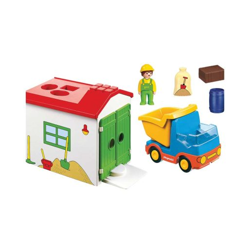 Playmobil 1-2-3 lastbil 70184 indhold