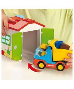 Playmobil 1-2-3 lastbil 70184 parkering