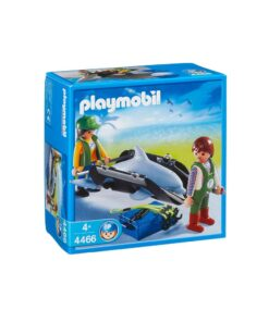 Playmobil delfin transport 4466 æske