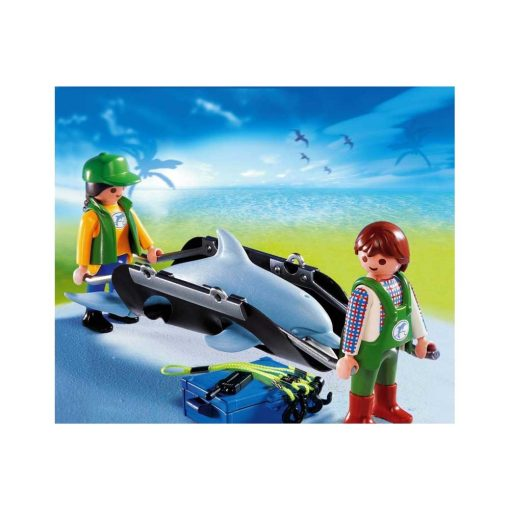 Playmobil delfin transport 4466 billede