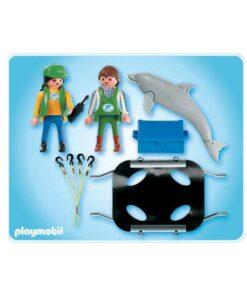 Playmobil delfin transport 4466 indhold