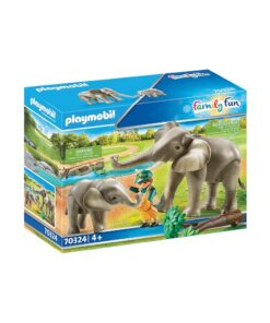Playmobil elefanter 70324 æske