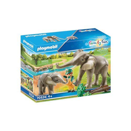 Playmobil elefanter 70324 æske