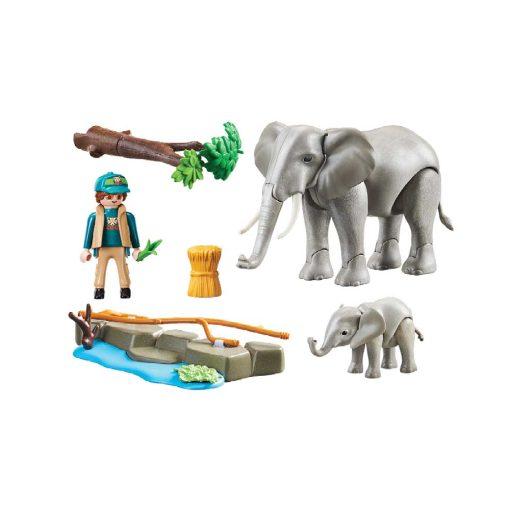 Playmobil elefanter 70324 indhold