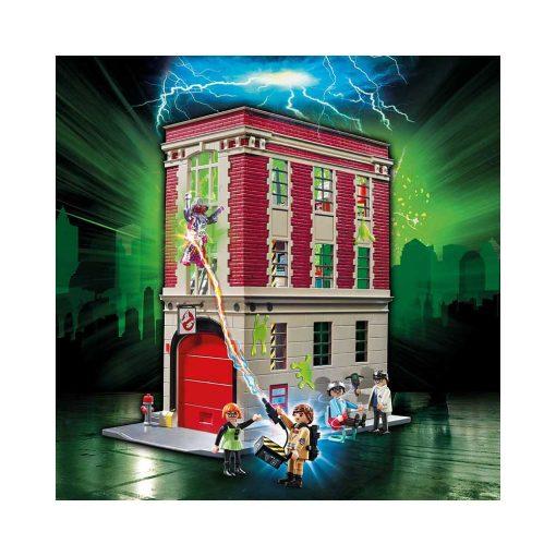 Playmobil ghostbusters brandstation 9219 billede