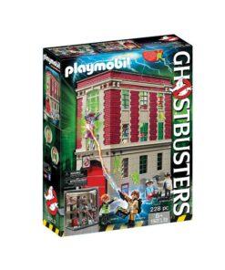 Playmobil Ghostbusters hovedkvarter 9219 æske