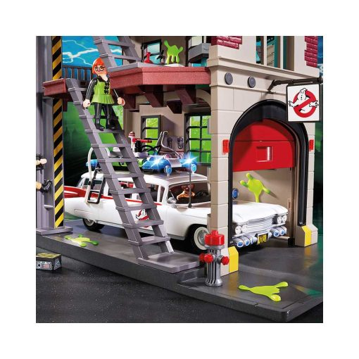 Playmobil ghostbusters brandstation 9219 garage