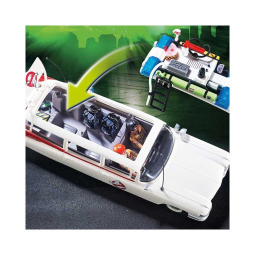 Playmobil ghostbusters ecto-1 9220 aftageligt tag