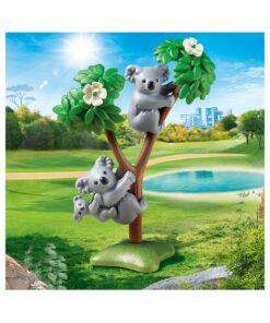 Playmobil koalabjørne med baby 70352 illustration