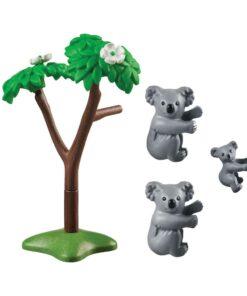 Playmobil koalabjørne med baby 70352 indhold