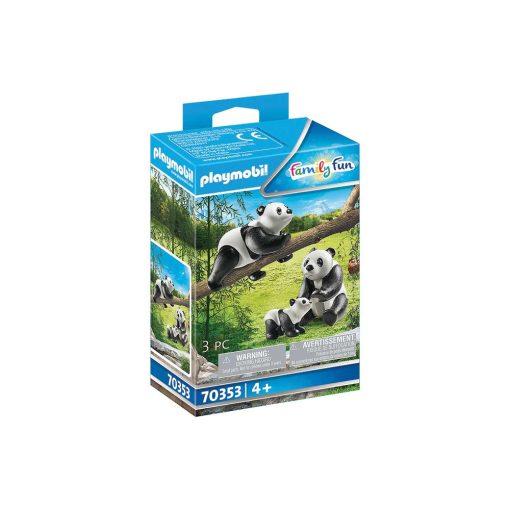 Playmobil Pandaer med baby 70353 æske