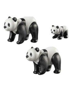 Playmobil Pandaer med baby 70353 indhold