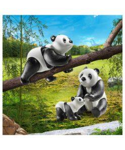 Playmobil Pandaer med baby 70353 billeder